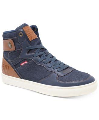 Jeffrey Hi 501 Denim Sneakers