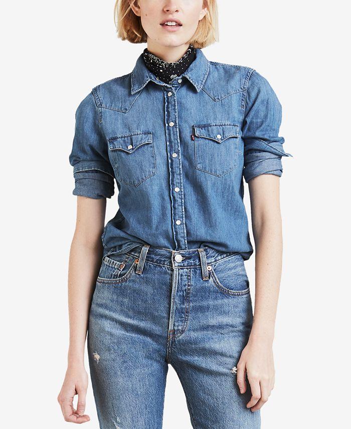 Levi's - Cotton Ultimate Western Denim Shirt