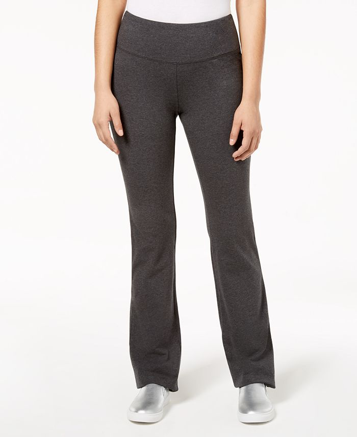 Style & Co - Tummy-Control Bootcut-Leg Pull-On Pants