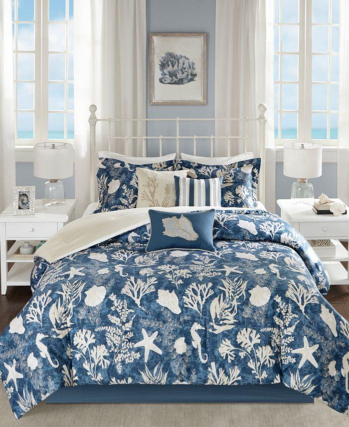Madison Park - Cape Cod 7-Pc. Queen Comforter Set