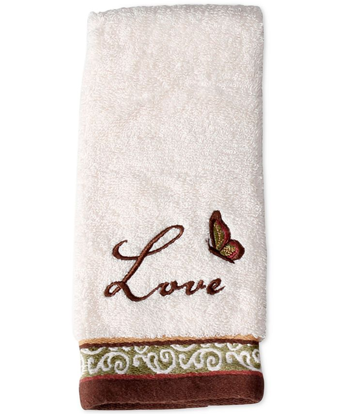 Saturday Knight - Inspire Cotton Embroidered Fingertip Towel