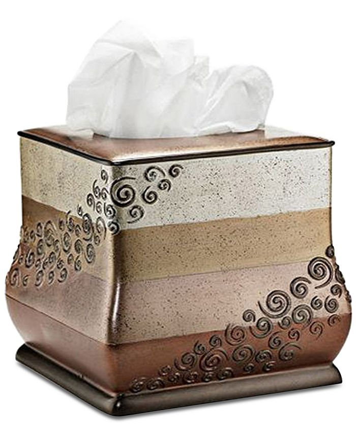 Popular Bath - Miramar Tissue Box