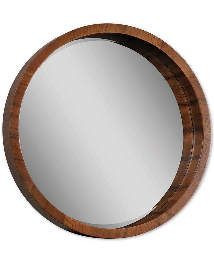 Furniture - Brybjar Veneer Wall Mirror, Quick Ship
