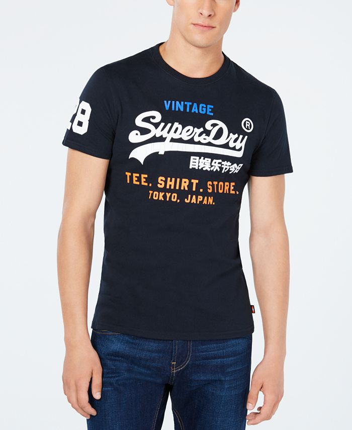Superdry - Men's Graphic-Print T-Shirt