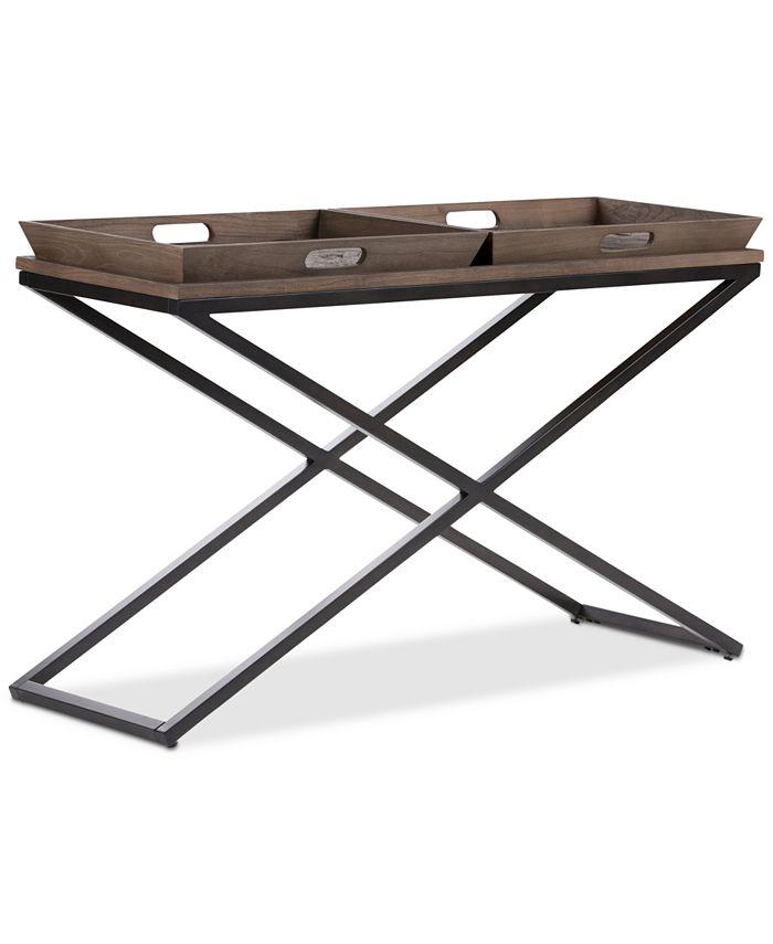 Simpli Home - Alee Console Table, Quick Ship