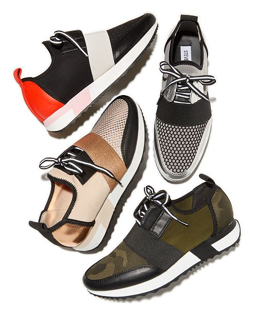 olvidadizo ayudante Brillante  Steve Madden Antics Jogger Sneakers & Reviews - Athletic Shoes & Sneakers -  Shoes - Macy's