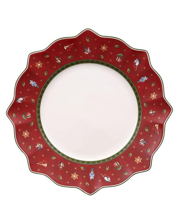 Villeroy & Boch Toy's Delight Red Dinner Plate