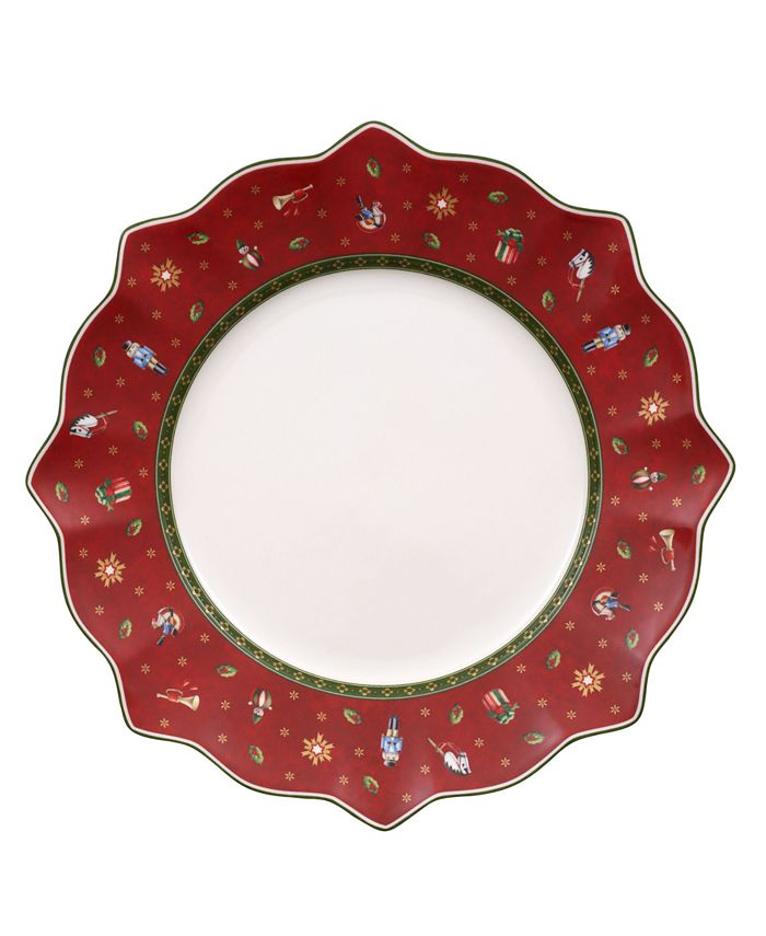 Villeroy & Boch - Toy's Delight Red Dinner Plate