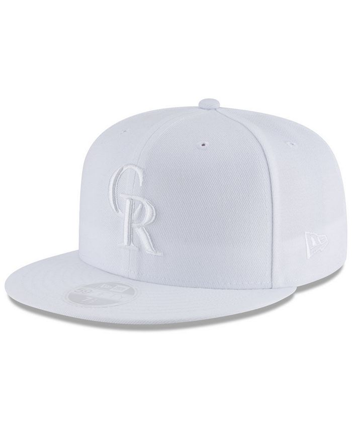 New Era - White Out 59FIFTY Fitted Cap