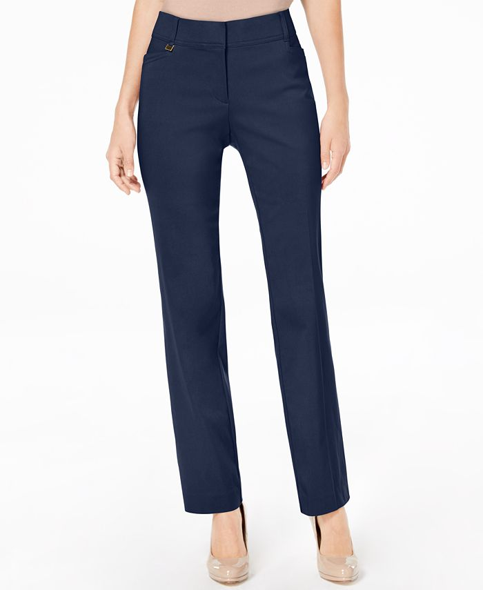 JM Collection - Straight-Leg Pants