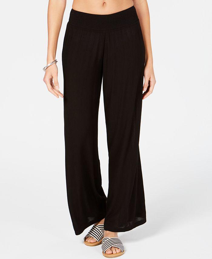 Lauren Ralph Lauren - Crinkle Cover-Up Pants