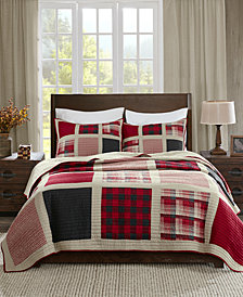 Woolrich Huntington Reversible 3-Pc. Oversized King/California King Quilt Mini Set