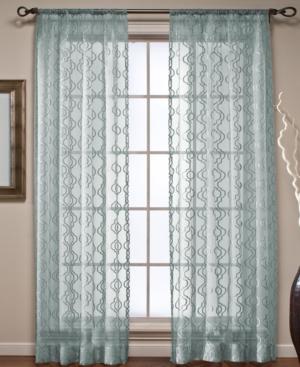 "Beacon Looms Window Treatments, Ogee Sheer Panel 50"" x 84"" Bedding"