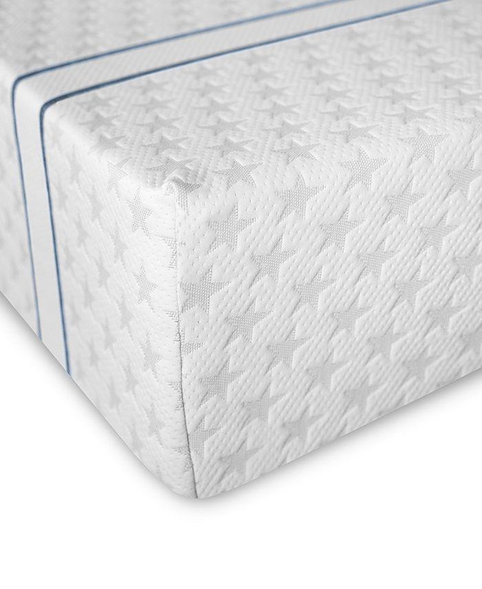 "MacyBed - 10"" Plush Memory Foam Mattress , Quick Ship, Mattress in a Box - California King"