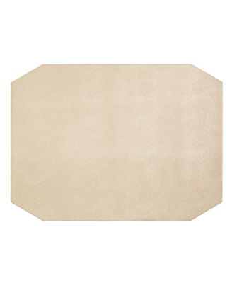 Faux Leather Champagne Placemat, Created for Macy's