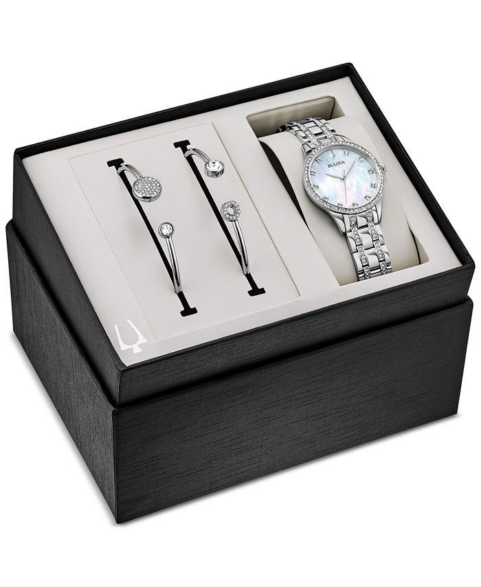 Bulova - Women's Stainless Steel Bracelet Watch 32mm