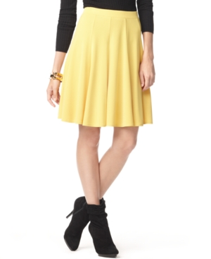 INC International Concepts Skirt, Flared Jersey
