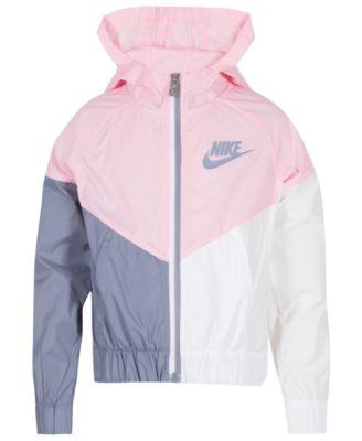 Nike Little Girls Colorblocked Hooded