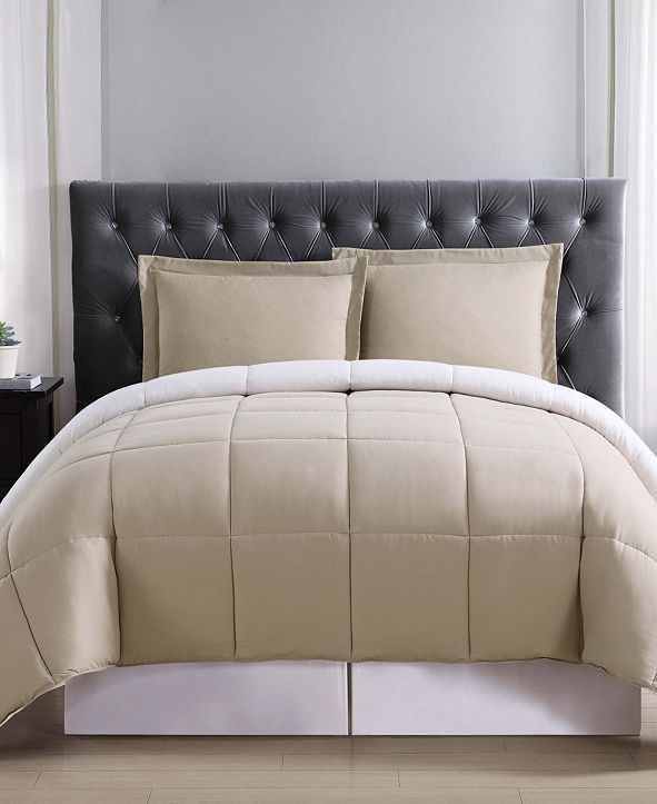 Truly Soft Everyday Reversible King 3-Pc. Comforter Set
