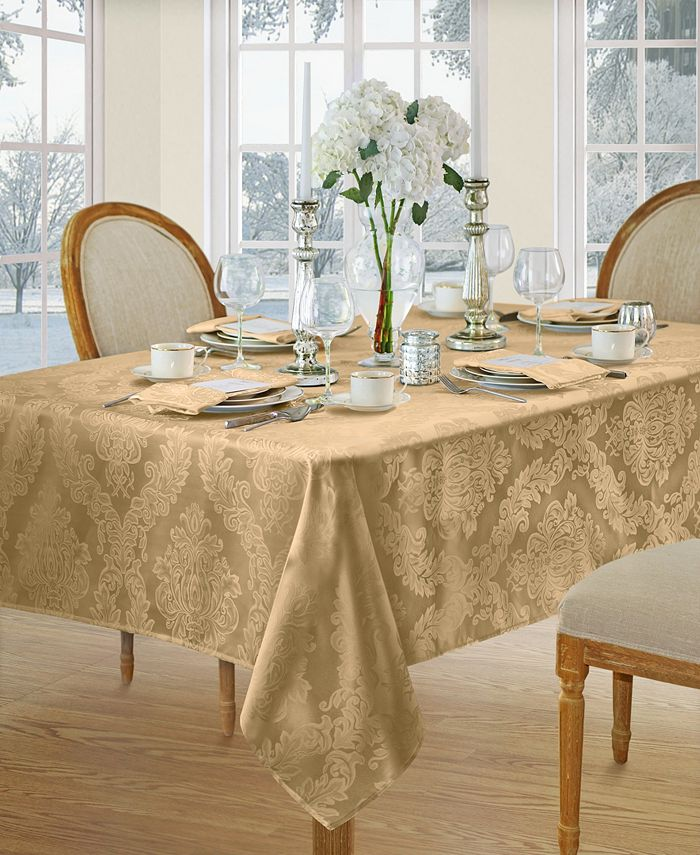 Elrene - BARCELONA DAMASK TABLECLOTH COLLECTION