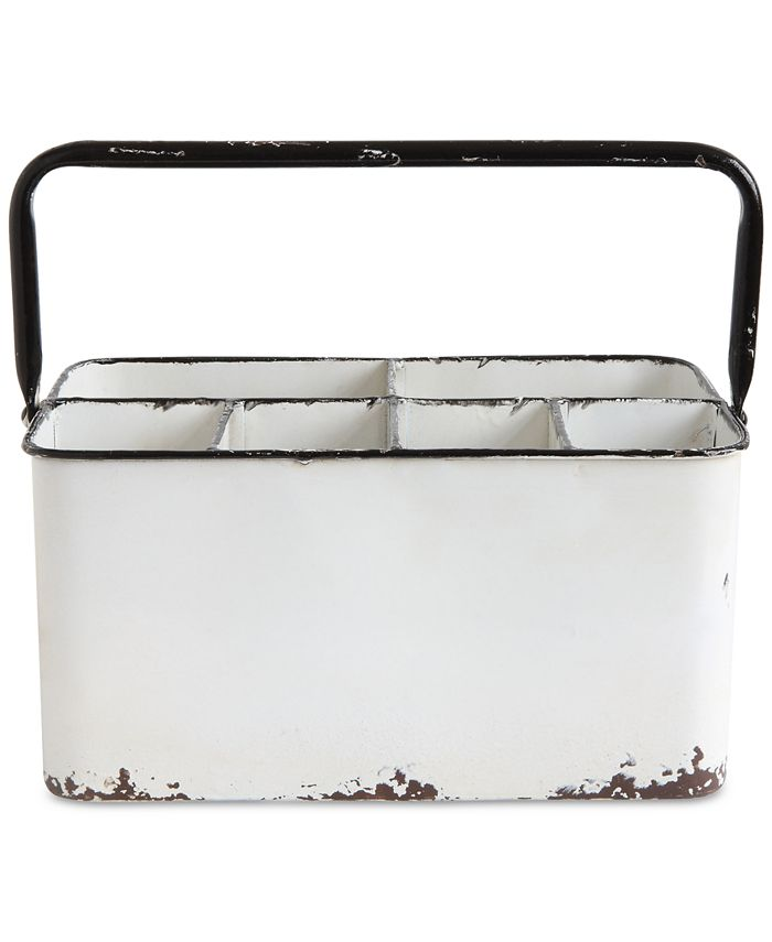 3R Studio - Metal Caddy with 6 Compartments