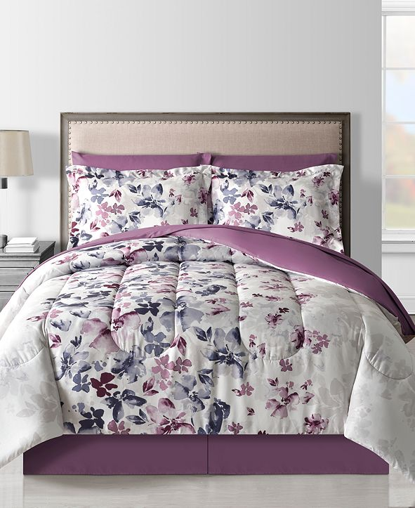 Fairfield Square Collection Monica 8-Pc. Queen Comforter Set