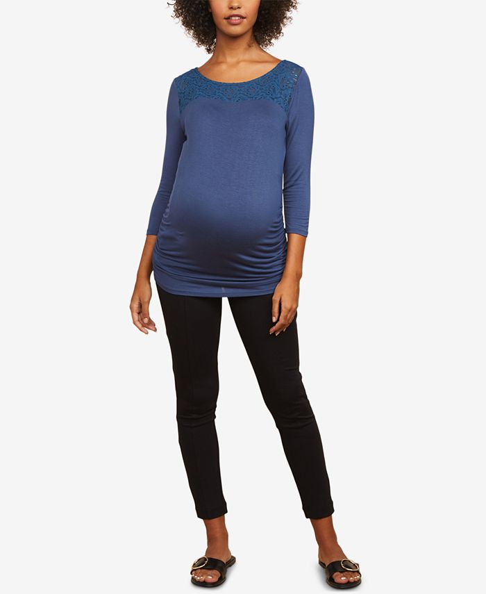 Motherhood Maternity - Maternity Skinny Ankle Pants