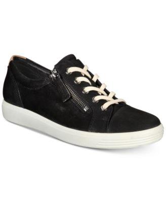 Ecco Women's Soft 7 Side-Zip Sneakers