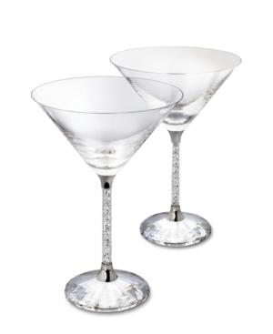 Swarovski Crystalline Cocktail Glasses, Set of 2