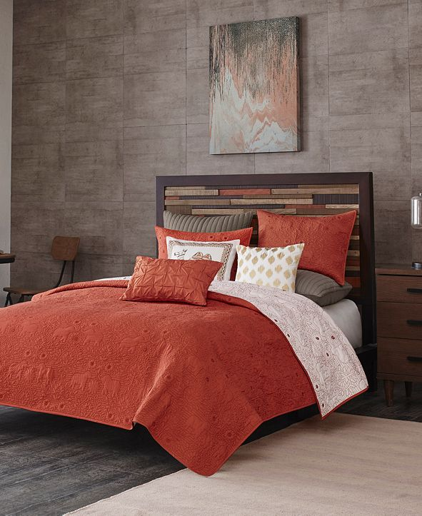 INK+IVY Kandula 3-Pc. Full/Queen Reversible Coverlet Mini Set