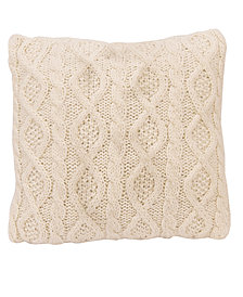 """18""""x18"""" Cable Knit Pillow"""