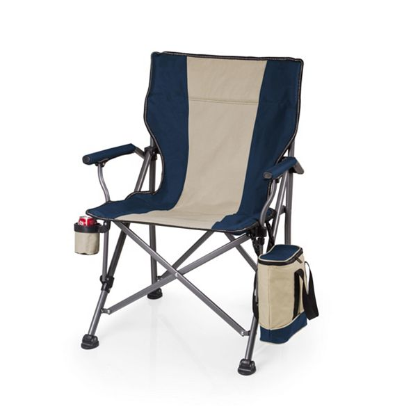 Picnic Time Oniva® by Navy Outlander Folding Camp Chair with Cooler