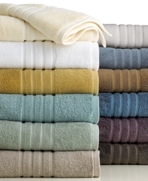 """hotel collection bath towels, microcotton luxe 16"""" x 30"""" hand towel"""