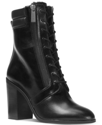 Michael Kors Rosario Lace-Up Boots