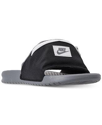 Nike Men's Benassi JDI Fanny Pack Slide Sandals from Finish ...