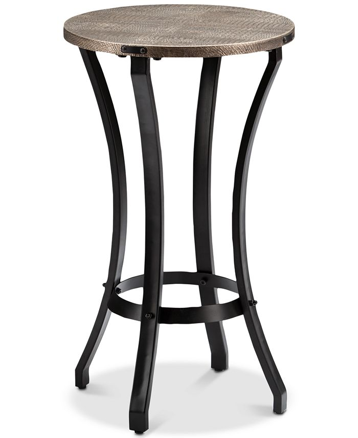Southern Enterprises - Libson Round Accent Table, Quick Ship
