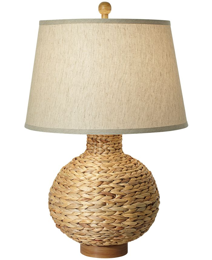 Kathy Ireland - Seagrass Bay Round Table Lamp