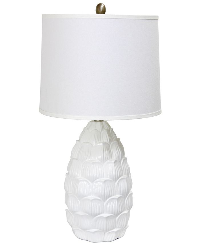 All The Rages - Resin Table Lamp with Fabric Shade