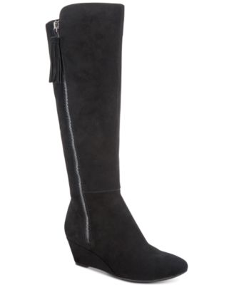 Anne Klein Alanna Wide Calf Dress Boots