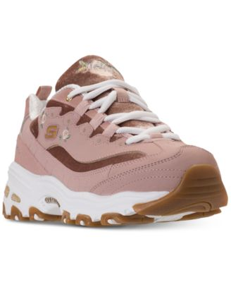 D'Lites - Rose Blooms Walking Sneakers