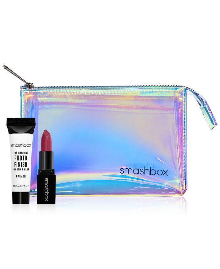 Smashbox Receive A Free Makeup Bag And