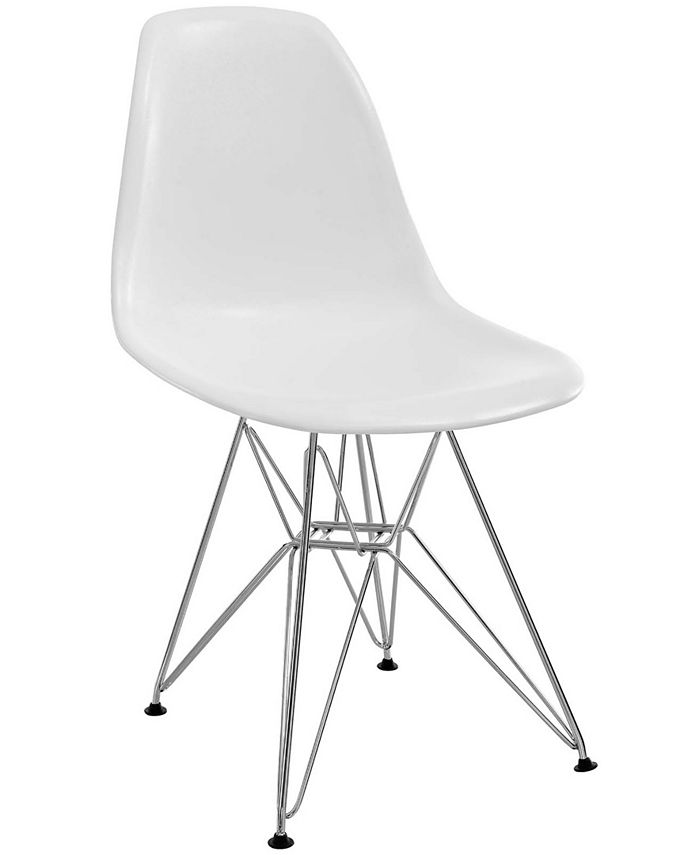 Modway - Paris Dining Side Chair in White