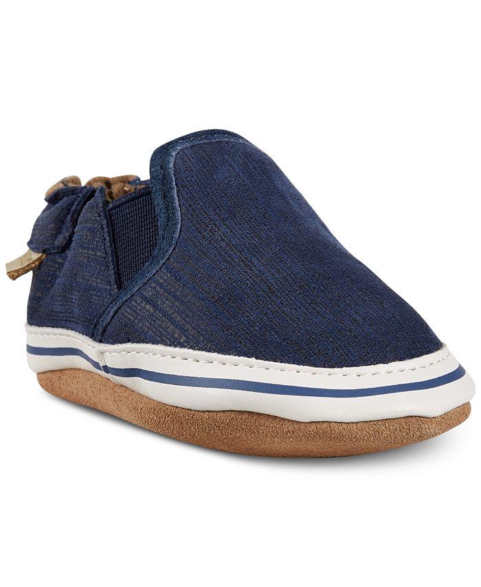 Robeez - Baby Boys Liam Basic Shoes