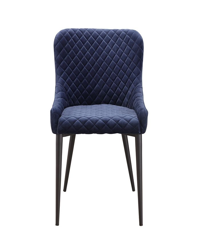 Moe's Home Collection - ETTA DINING CHAIR DARK BLUE
