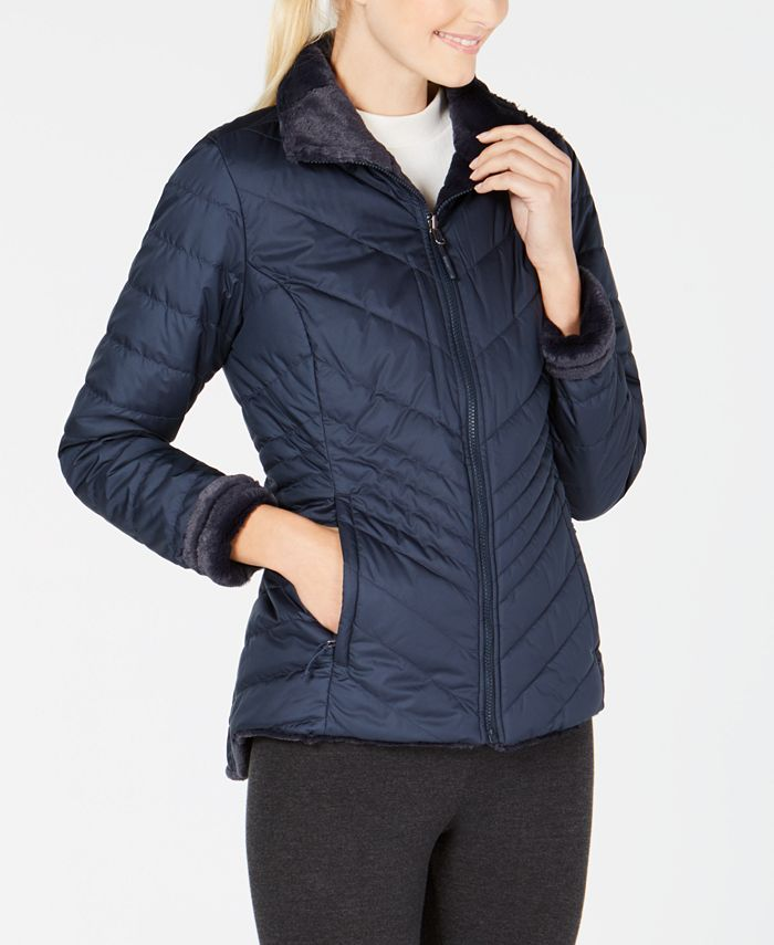 The North Face - Mossbud Fleece-Lined Reversible Jacket