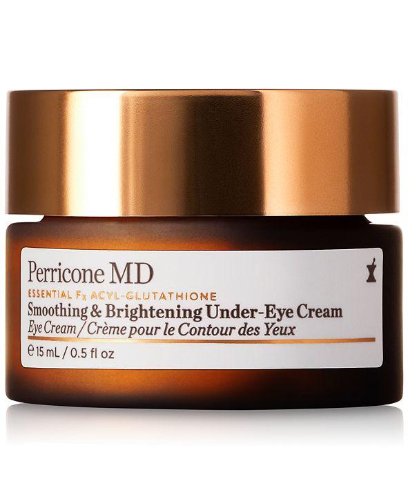 Perricone MD Essential Fx Acyl-Glutathione Smoothing & Brightening Under-Eye Cream, 0.5-oz.