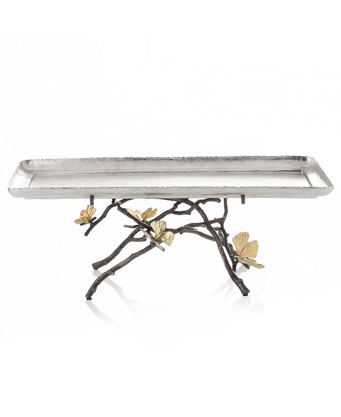 Michael Aram - Butterfly Gingko Footed Centerpiece Tray