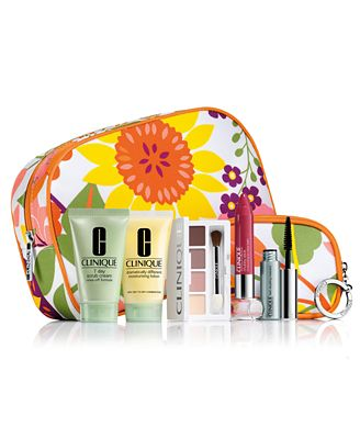 FREE 7-Pc. Gift with $21.50 Clinique purchase
