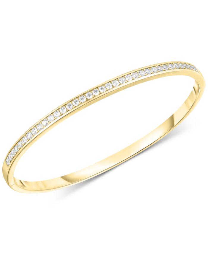 Arabella Swarovski Zirconia Bangle Bracelet & Reviews - Bracelets - Jewelry & Watches - Macy's
