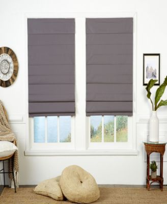 Insulating Cordless Roman Shade, 69x72